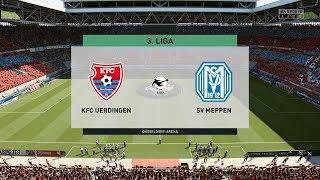 Fifa 20   kfc uerdingen vs sv meppen - 3. liga 17/03/2020 1080p 60fps