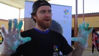 Max of Arabia at Volunteer Emirates!