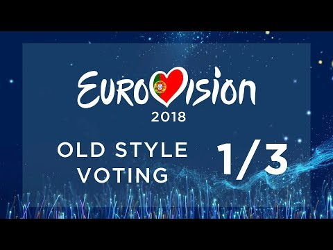 EUROVISION 2018 // OLD STYLE VOTING PT. 1/3