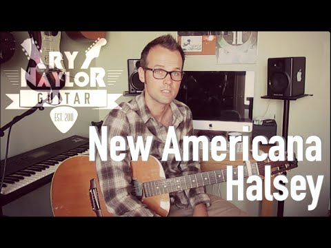 How to play New Americana on Guitar - Halsey Guitar Tutorial Lesson | Chords and Strumming Patterns