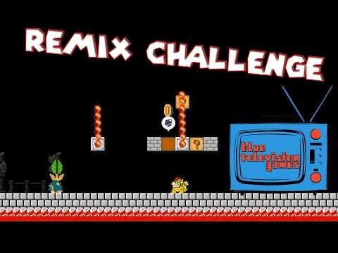 It's Challenge Time! BTG Remix Challenge - Super Mario Maker