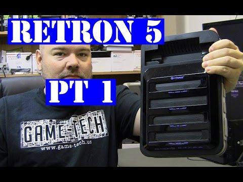 Hyperkin Retron 5 - ebay junk lot - no power fail to fix Pt1