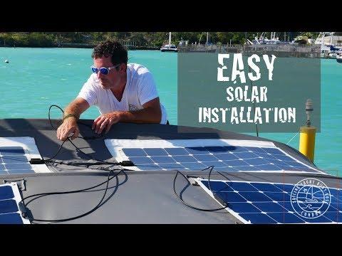 EASY SOLAR PANEL INSTALLATION FOR YACHTS & R/V'S