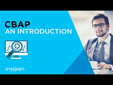 Introduction To Certified Business Analysis Professional Certification | Simplilearn