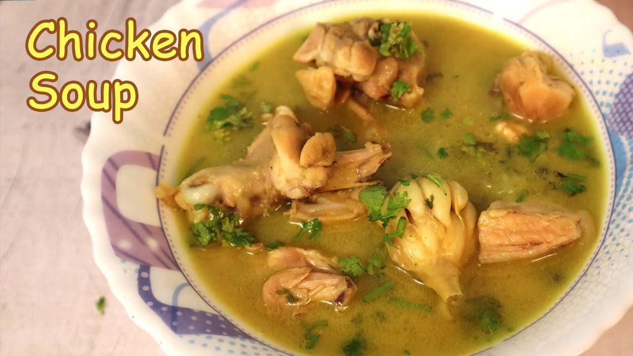 Chicken Soup Recipe | Tasty & Super Healthy Soup By Tick Tock Kitchen