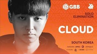 CLOUD | Grand Beatbox Battle 2019 | Solo Elimination