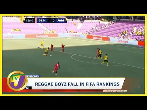 Reggae Boyz Fall in FIFA Ranking - August 12 2021