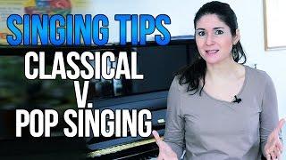 Freya's Singing Tips: CLASSICAL vs. POP Singing