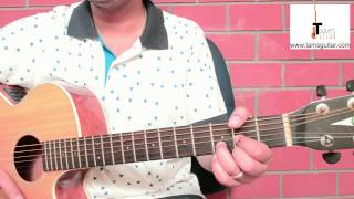 3 chords hindi songs  guitar lesson for absolute beginners-Guncha koi-Easy(www.tamsguitar.com)