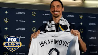 Watch Zlatan Ibrahimovic's entire LA Galaxy press conference | FOX SOCCER