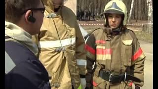 Уроки безопасности - Оказание помощи при ДТП - Учения спасрезерва МЧС.