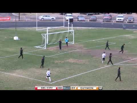 PTCI Soccer Del City vs Guymon 4-13-18 Boys