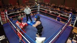 Ultra White Collar Boxing | Halifax | Nick Denton VS Steve Wilkinson