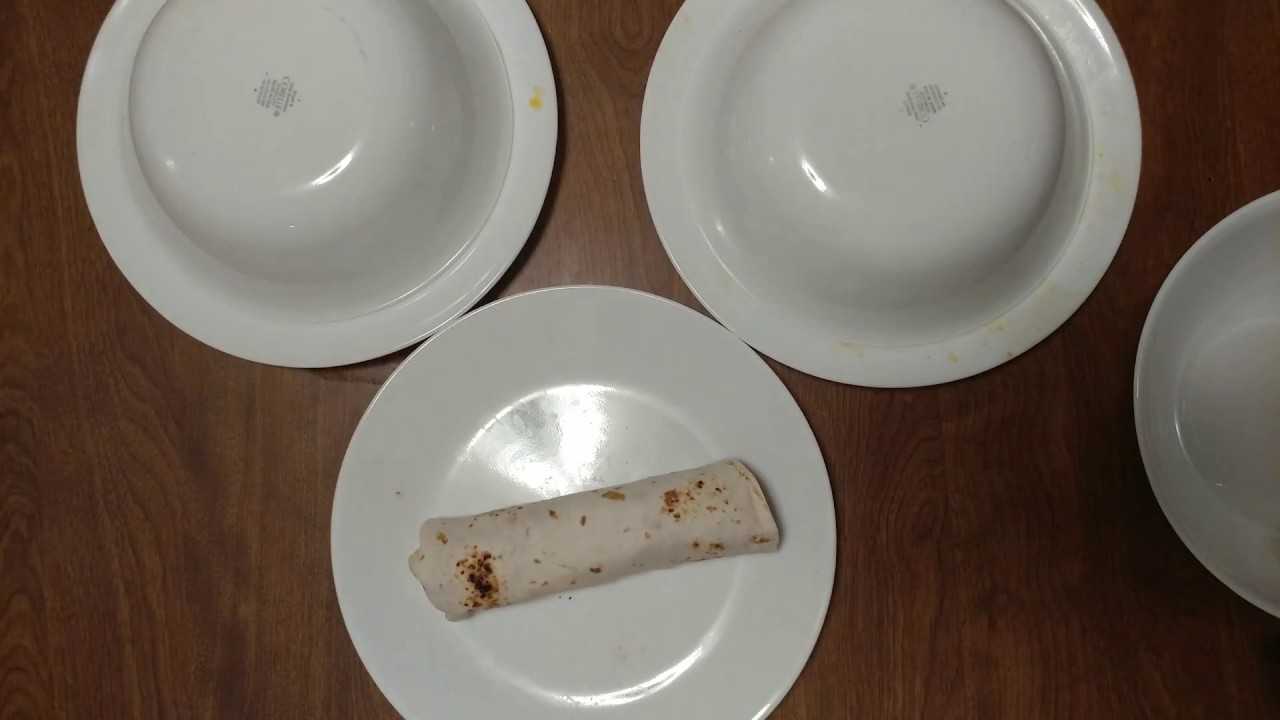 My dinner served on Corelle plates with bowls as covers & My dinner served on Corelle plates with bowls as covers - YouTube