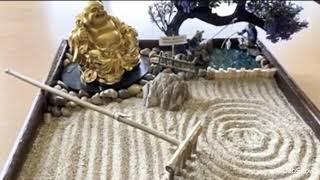 "MINI ZEN GARDEN ""KARENSANSUI"" (Woodworks/Arts \u0026 Crafts/Dry Landscape)"