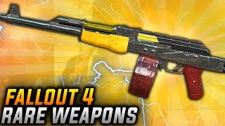 Fallout 4 Rare Weapons - TOP 10 Nuka World DLC Unique Secret Weapons BEST NUKA WORLD WEAPONS