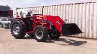 Tractors Pakistan MF385 4wd with Front loader