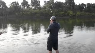 bank fishing for sacramento river king salmon