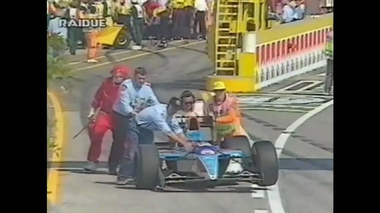 Imola 1994 Incidente Alboreto Commento Rai Doovi