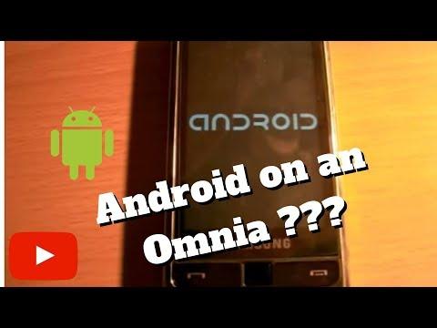 Android On Omnia I900 White - Andromnia 0.31 Rev103
