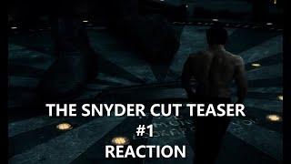 The Snyder Cut Teaser #1 REACTION