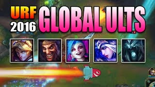 urf 2016 global ults   cross map snipes league of legends