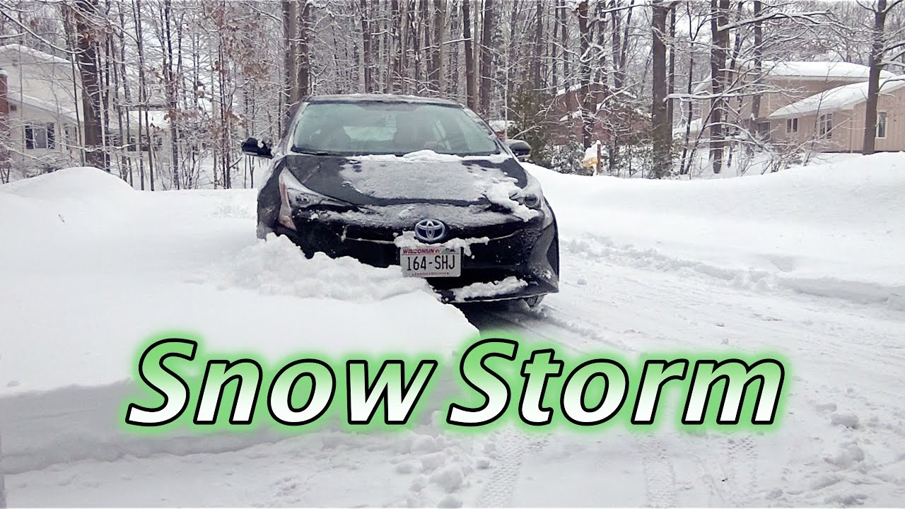 Prius 9 Of Snow