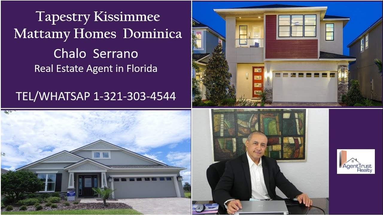 Tapestry kissimmee mattamy homes dominica youtube for Mattamy homes