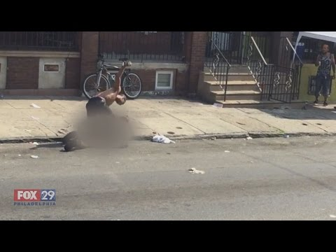 Philadelphia Woman Beaten In Street While Crowd Watches