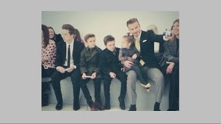 Cute new Beckham family selfies as they support Victoria at New York fashion week