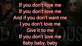 Michael Jackson - If you don