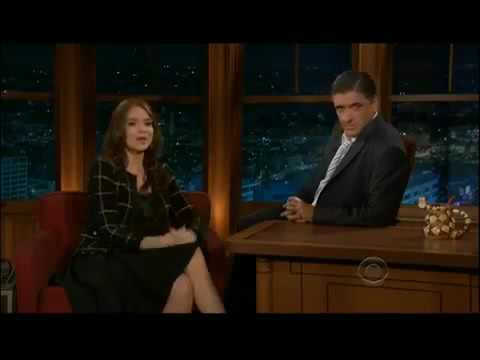 Sexiest Accent ever! Saffron Burrows Craig Ferguson getting friendly with a girl