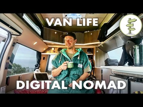 Film Producer Living & Working in a Camper Van - #VanLife Tr
