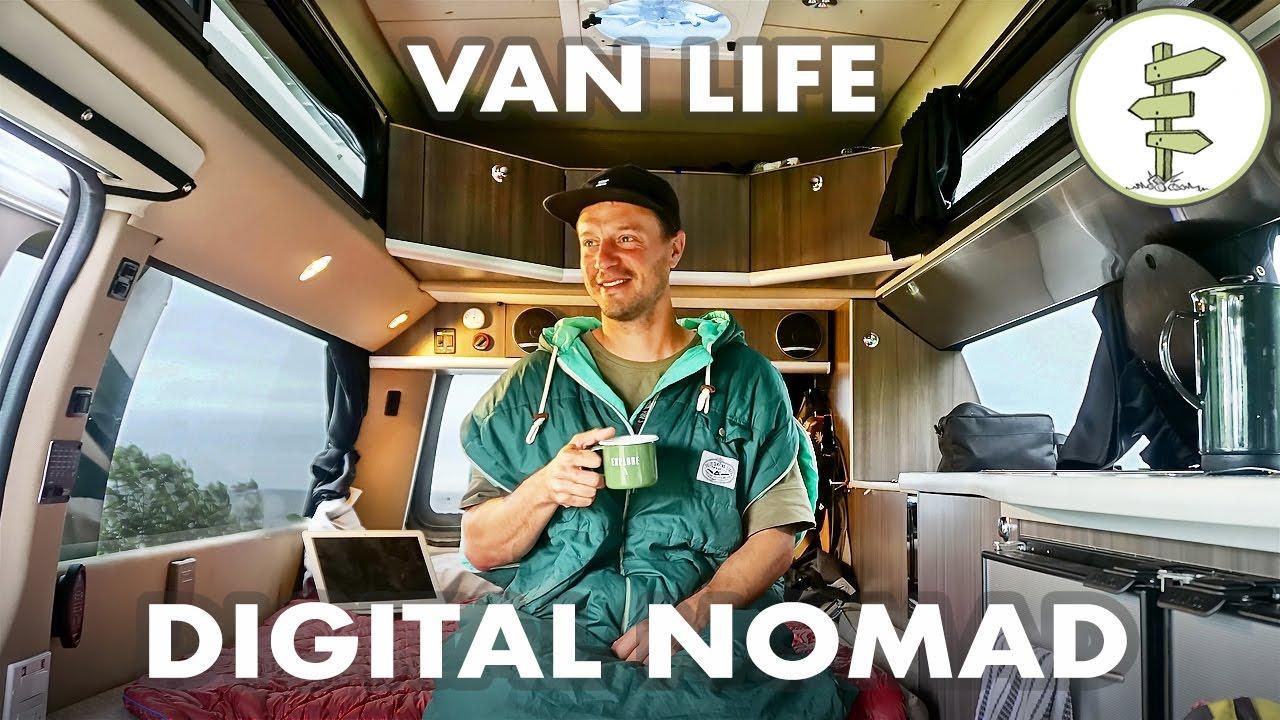 Film Producer Living Working In A Camper Van Vanlife Traveler