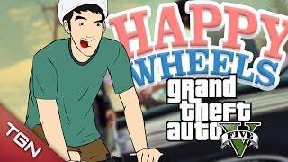 Happy Wheels: GTA V