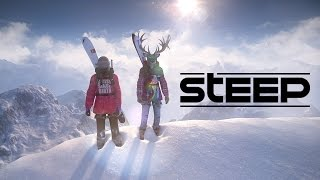Scaling Everest - Steep Gameplay on Xbox One Funny Moments