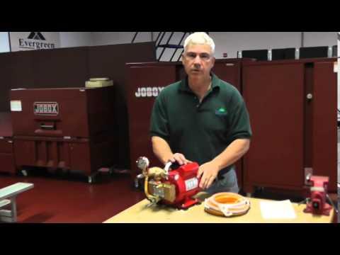 Reed Hydrostatic Test Pump