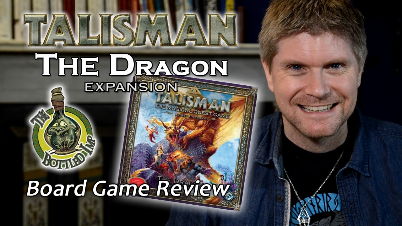 Talisman: the dragon 4th edition expansion game (fantasy flight.
