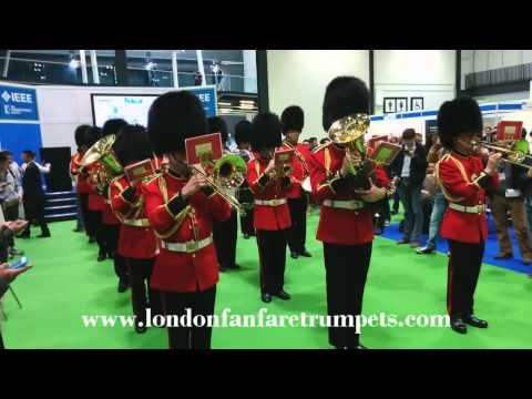 The Great Little Army March by Kenneth Alford - London Fanfare Trumpets Marching Band