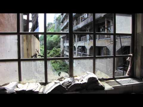 World Mystery Ghost Island Hashima 軍艦島 Gunkanjima rare footage