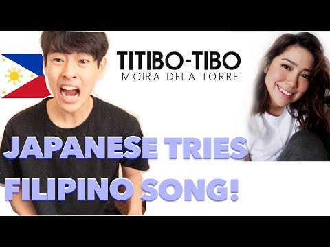 JAPANESE TRIES TO SING TITIBO-TIBO by Moira Dela Torre!!!!!!!!!!!!!!!!!