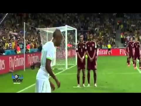 algerie  vs russia 26 6 2014 حفيظ دراجي HD 1-1