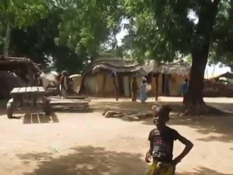 Peace Corps Senegal: Compound/Hut Tour