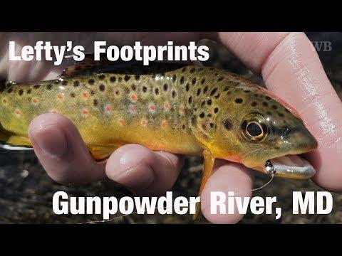 WB - Fly Fishing Lefty's Footprints, Gunpowder River, MD - March '18