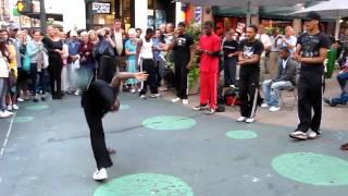 New York street dancers Уличные танцы Нью Йорка