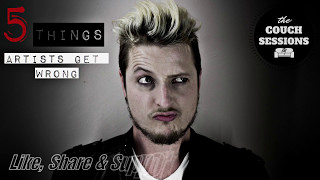 Tips - 5 Things Bands Get Wrong - The Couch Sessions SA - Part 1