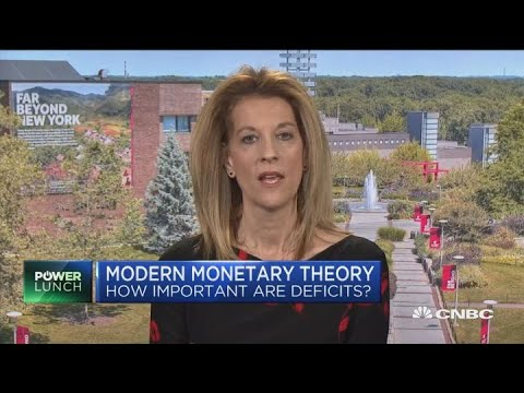 Modern monetary theory takes on Wall Street and Washington