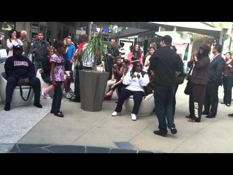 "Josh Vietti ""Where is the Love"" at Santa Monica Place"