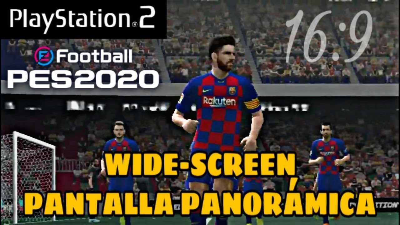 NEW PES 2020 PS2 DECEMBER RIKY EDITION'S | WIDESCREEN (16:9)
