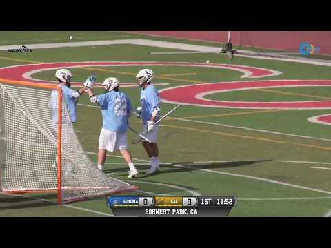 Sonoma State vs. University of California, Berkeley Men's Lacrosse 4/27/18